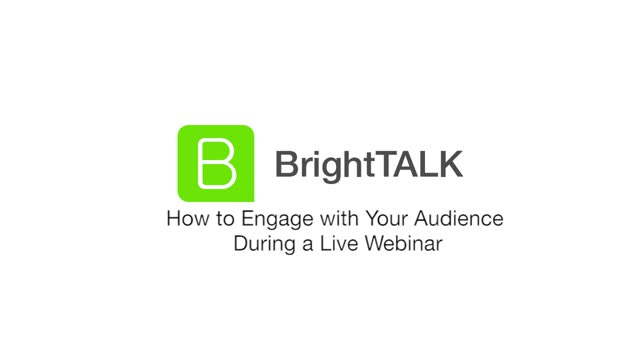 How to Engage with Your Audience During a Live Webinar