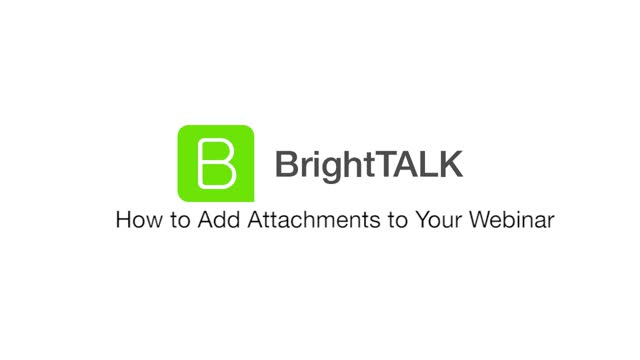 How to Add Attachments to Your Webinar