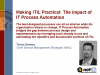 Making ITIL Practical: The Impact of IT Process Automation