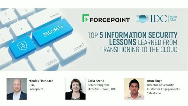 The Top 5 Security Lessons Learned from Transitioning to the Cloud