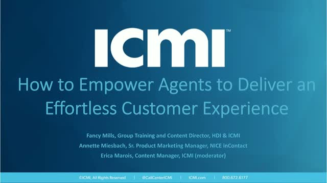 How to Empower Agents to Deliver an Effortless Customer Experience