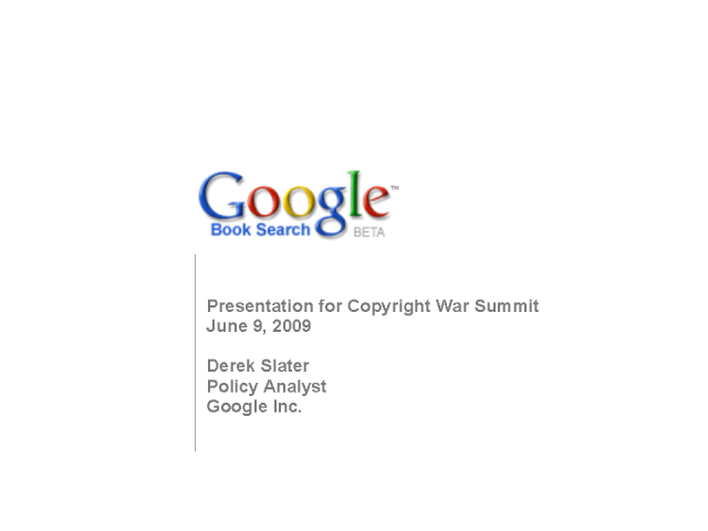 The Future of Google Book Search