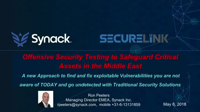 Using Offensive Security Testing to Safeguard Critical Assets in the Middle East