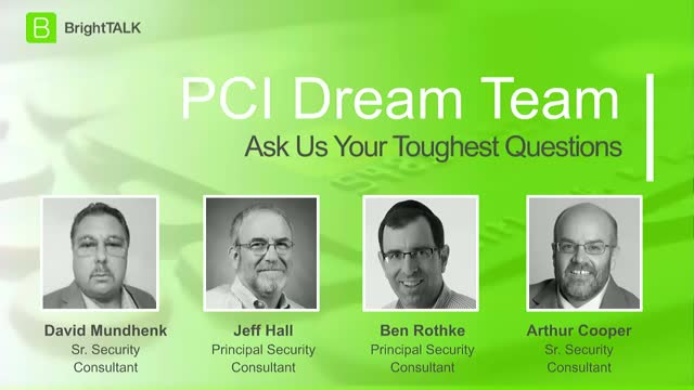PCI Dream Team: Ask Us Your Toughest Questions [Part 4]