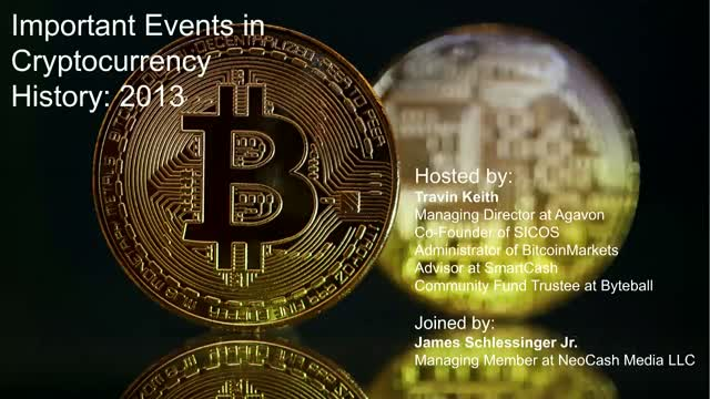 Important Events in Cryptocurrency History: 2013