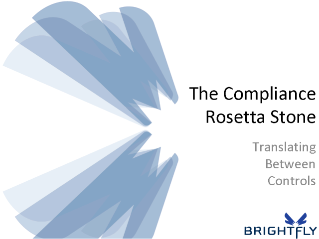 Compliance Rosetta Stone: Translating Between Controls