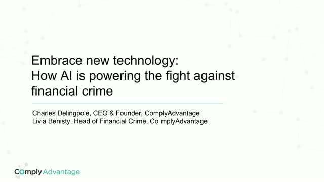 How AI is Powering the Fight Against Financial Crime