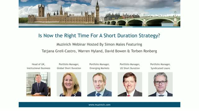 Is Now the Right Time For A Short Duration Strategy