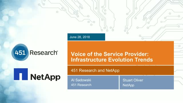 Voice of the Service Provider: 2018 Cloud and Hosting Insights and Trends