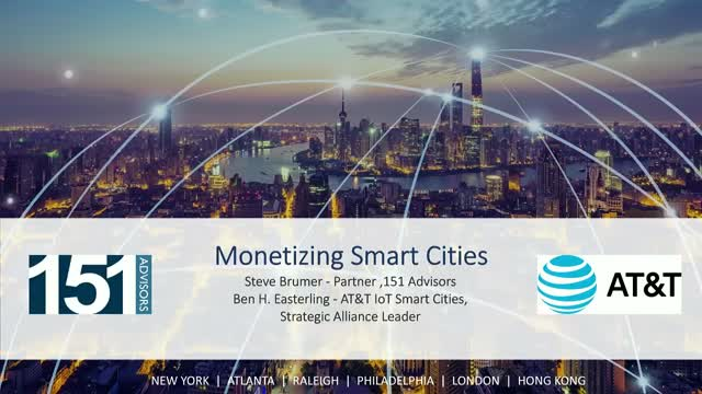 Monetizing Smart Cities