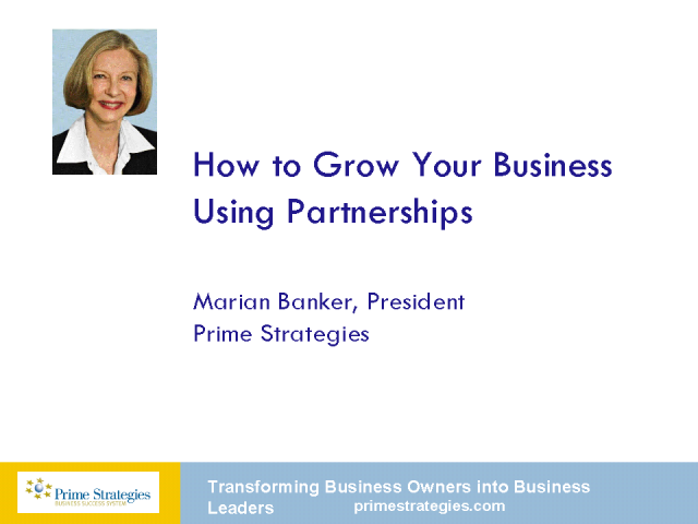 How to Grow Your Business Using Partnerships