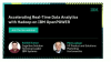 Accelerating Real-Time Data Analytics with Hadoop on IBM OpenPOWER