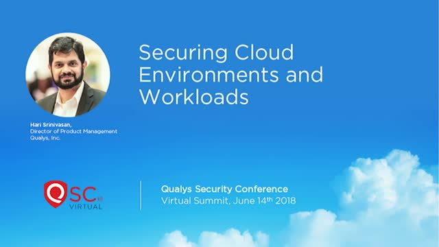 Securing Cloud Environments and Workloads