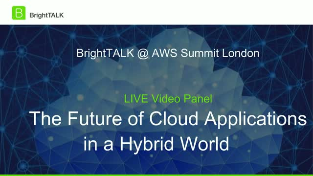 The Future of Cloud Applications in a Hybrid World