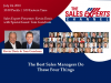 The Best Sales Managers Do These Four Things