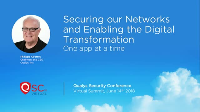 Securing our Networks and Enabling the Digital Transformation: One App at a Time