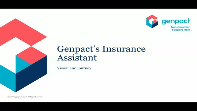 Chatbots - an Insurer's personal assistant