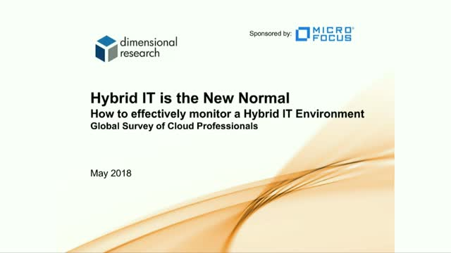 Hybrid IT is the New Normal
