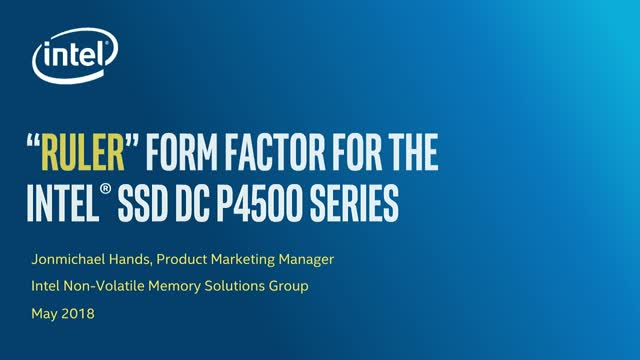 "Efficiently Deploying Supermicro Disaggregated Storage w/Intel ""Ruler"""
