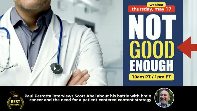 Not Good Enough: The Need for a Patient-Focused Content Strategy