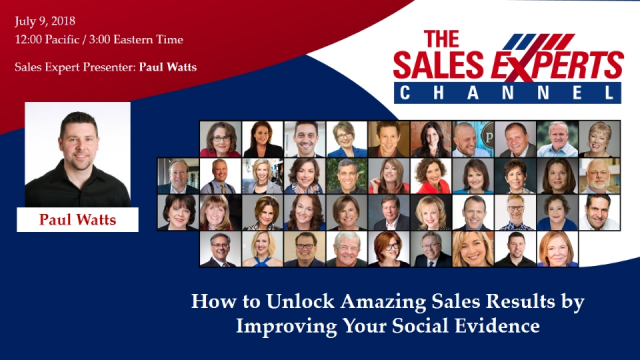 How to Unlock Amazing Sales Results by Improving Your Social Evidence