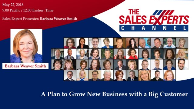A Plan to Grow New Business with a Big Customer