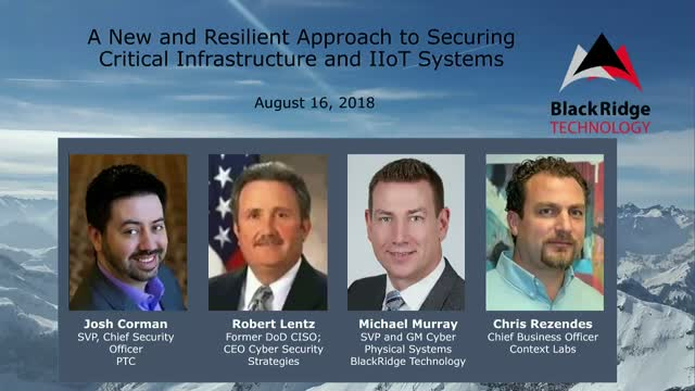 A New and Resilient Approach to Securing Critical Infrastructure and IIoT