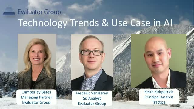 Technology Trends & Use Case in AI