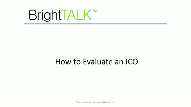 How To Evaluate an ICO