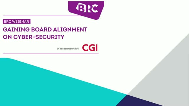Gaining Board alignment on cyber-security