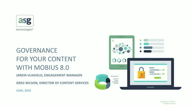 Governance for your Content with Mobius 8.0