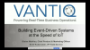 Building Event-Driven Systems at the Speed of IoT