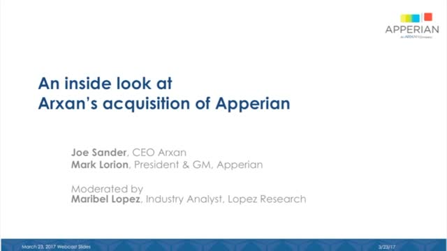 Inside Arxan's Acquisition of Apperian