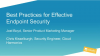 [APAC Breach Prevention Week] Best Practices for Effective Endpoint Security