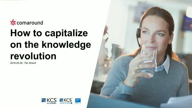 How to capitalize on the knowledge revolution