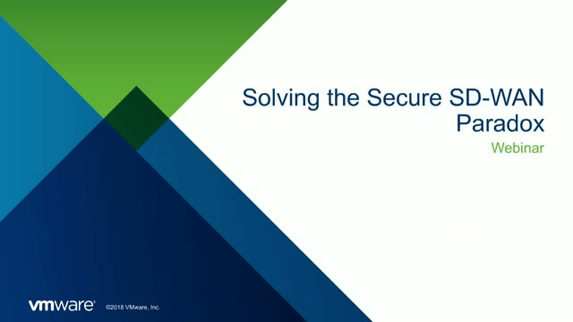 Solving the Secure SD-WAN Paradox