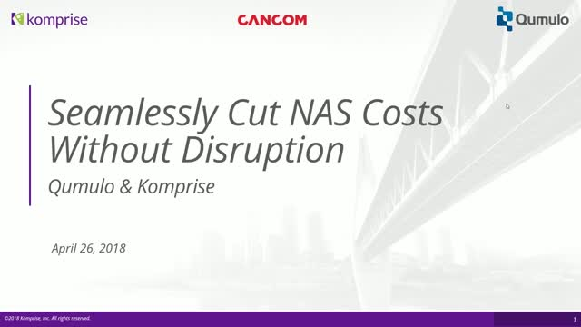 Seamlessly Cut Storage Costs Without User Disruption