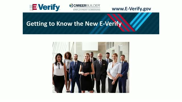 Getting to Know the New E-Verify