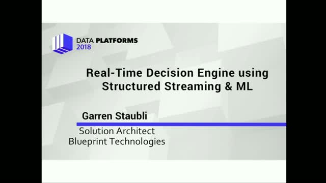 Building a Real-Time Decision Engine Using ML on Spark Structured Streaming