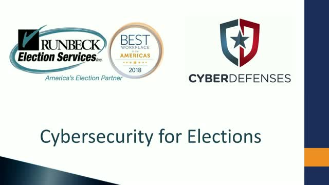 Elections Cybersecurity Assessment: Protect the Integrity of Your Elections