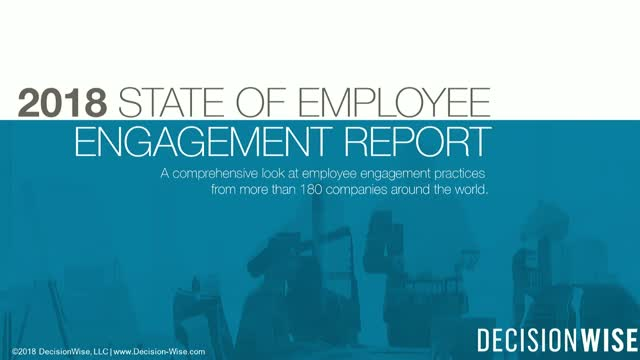 State of Employee Engagement 2018