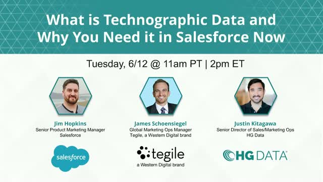 What is Technographic Data and Why You Need it in Salesforce Now