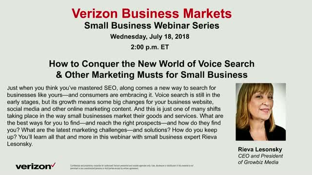 How to Conquer the New World of Voice Search & Other Marketing Musts