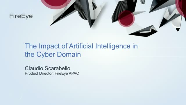 The Impact of Artificial Intelligence in the Cyber Domain