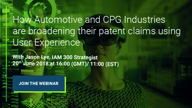 How Automotive and CPG Industries are broadening their patent claims using UX
