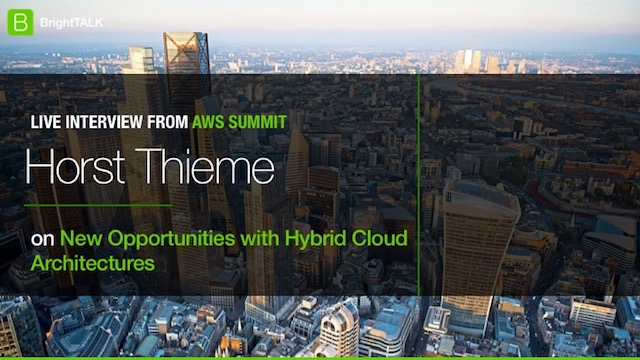 New Opportunities with Hybrid Cloud Architectures