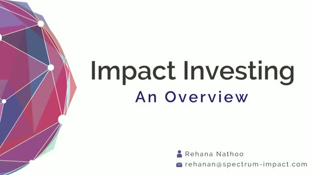 Myths Prohibiting Scale & Growth in Impact Investing