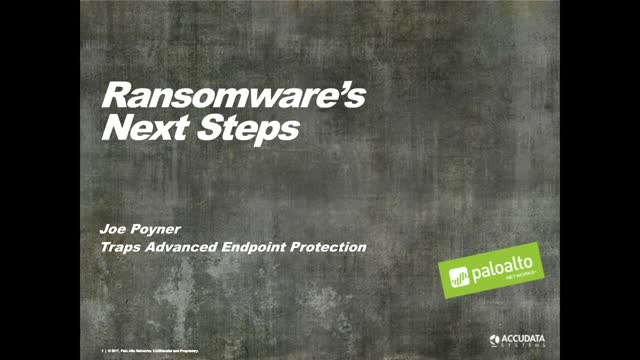 What's Next With Ransomware?