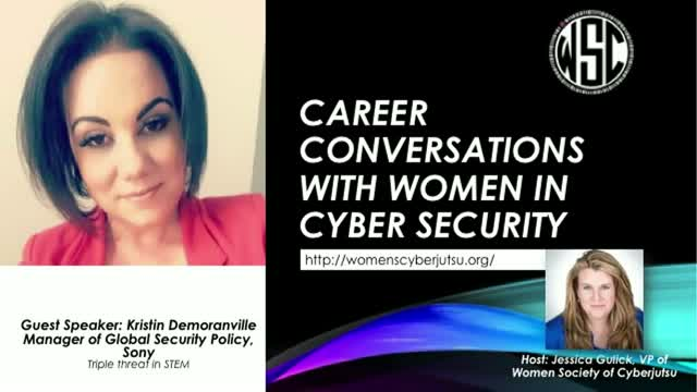 Career Conversations w/ Kristin Demoranville; Manager of Global Policy