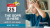 GDPR is here and I'm not ready! Information Governance Best Practices